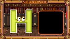 Letter H SteamPunkie