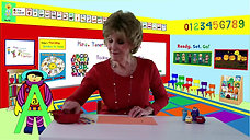 Fine Motor - Letter Aa with stickers