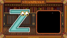 19 Letter Zz SteamPunkie