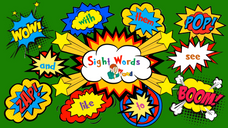 Sight word - brown, been
