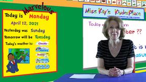 Monday Lesson April 12