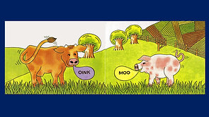 The Cow That Went OINK v
