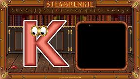 Letter K - SteamPunkie