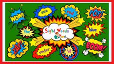 Sight word - may, jump, down