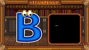 Letter Bb SteamPunkie
