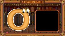 Letter Oo SteamPunkie