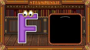 Letter F - SteamPunkie