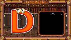 Letter Dd - Steampunkie