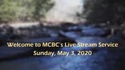 Sunday Morning Service May 3, 2020