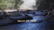 Pastor's Update March 27, 2020