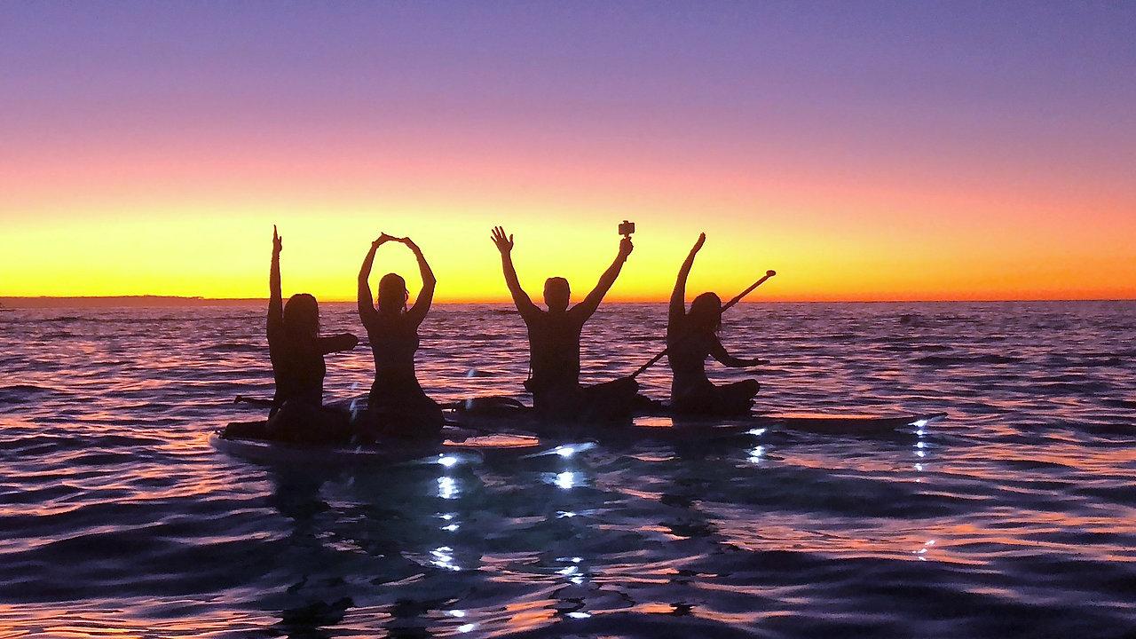 LightSUP Hawaii SIGNATURE SUNSET TOUR