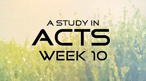 Acts Week 10