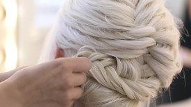 Braided Bridal Updo by Stephanie Brinkerhoff