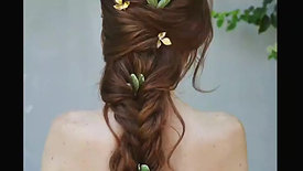 Twisted Half Updo by Renee Marie