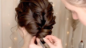 Clean Twisted Updo