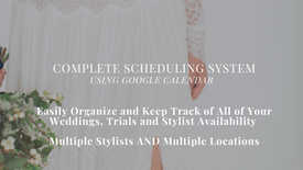 PREVIEW-Complete Stylist Scheduling System Using Google Calendar