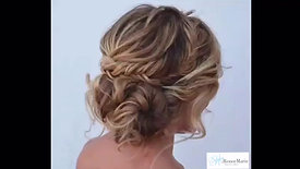 Tousled Updo by Renee Marie
