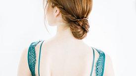 Low Elegant Bun by Stephanie Brinkerhoff