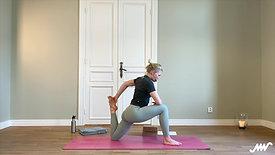 70 min öppna upp & sträcka ut framsida lår, baksida lår, höftböjare och rumpa
