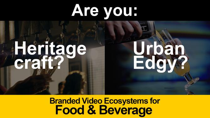 Food & Beverages Branded Video Ecosystem