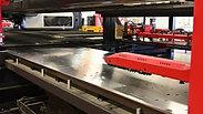 Unloading - reloading 1 sheet into machine