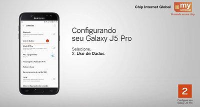 Chip Internet Global mysimtravel - Como configurar Samsung para Chip mysimtravel série 3G ou 4G