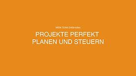 Projekte perfekt planen und steuern