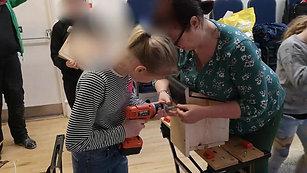 March 2019: Bird Box Making
