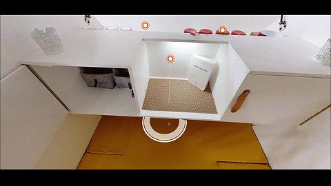 L'habitacle de la Tiny camp en vidéo