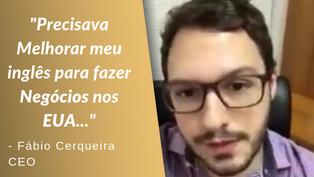 FÁBIO CERQUEIRA | DEPOIMENTO CURSO DE INGLÊS - ADVANCE LANGUAGES