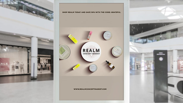 Realm Products Mall Billboard-