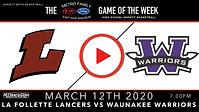 Lancers vs Waunakee