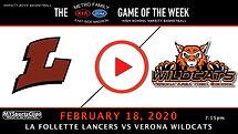Lancers Vs. Wildcats