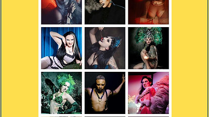 Corona Cabaret #3 - Halloween in April