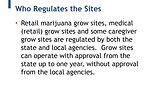 Relocation Of Marijuana Grow Sites