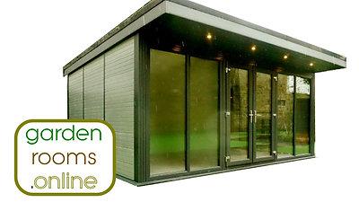 Compact Garden Room Install