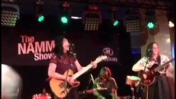 Live Performance | NAMM Show | Drea & the Marilyns