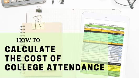 Calculate the Cost of College Attendance