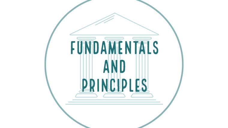 Fundamentals And Principles
