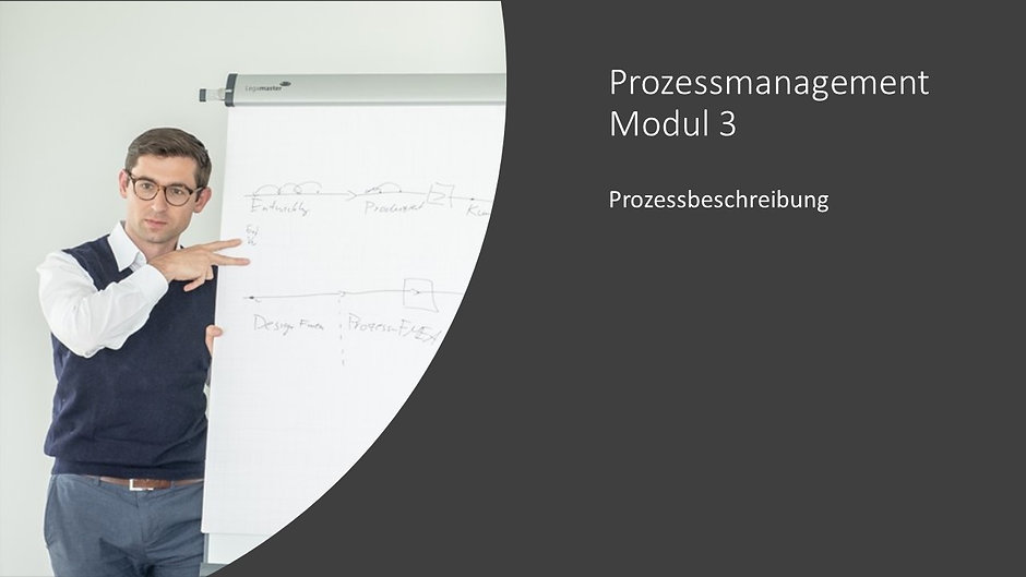 Prozessmanagement Modul 3