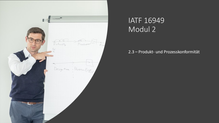 2.3 - Produkt- und Prozesskonformität