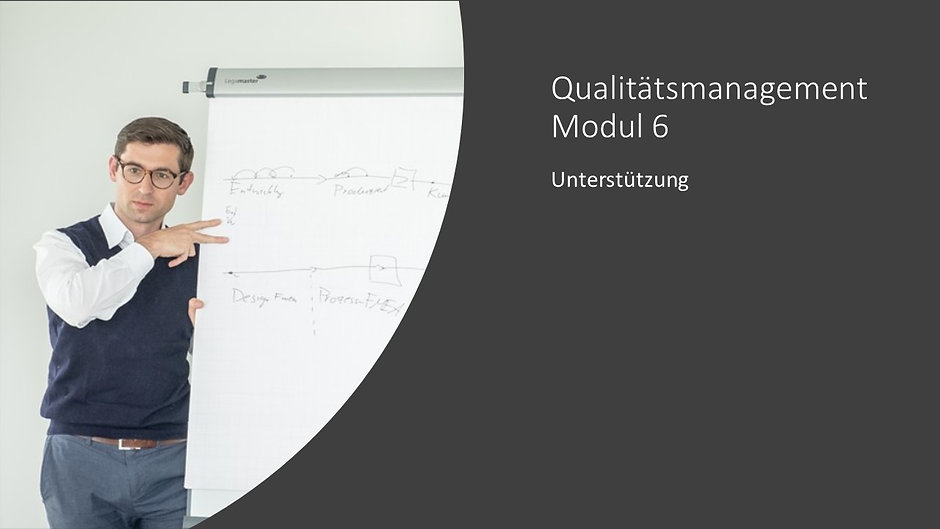 Qualitätsmanagement Modul 6