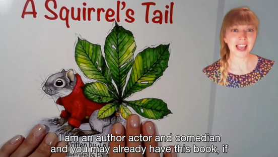 A Squirrel's Tail - author reading