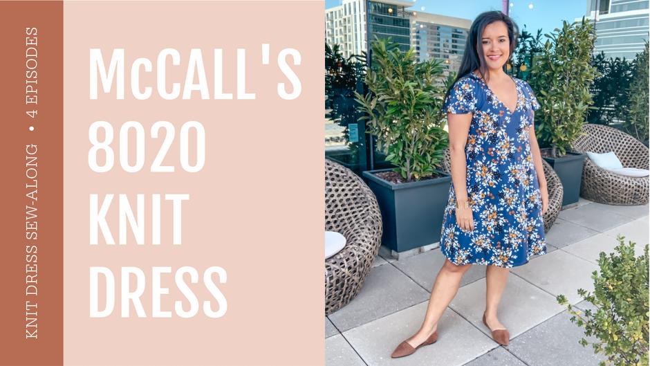 McCall's 8020  |  Knit Dress