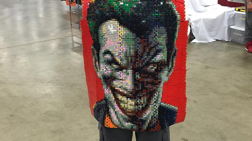 Awesome wearable LEGO Joker cape – BrickFair Virginia 2015