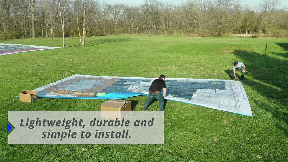Big Floor Plans- Life-Size Floor Plan Walkthrough On-Site