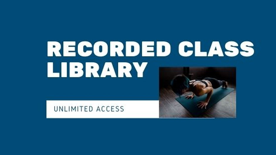 Recorded Class Library
