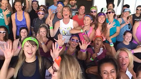 Yoga Party Live at Topgolf!