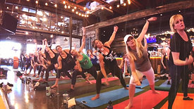 Yoga Party Live at Whiskey Row Birthdays!