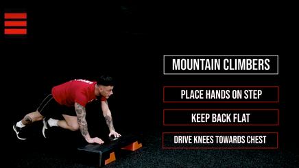 8 Minute HIITSTEP Workout